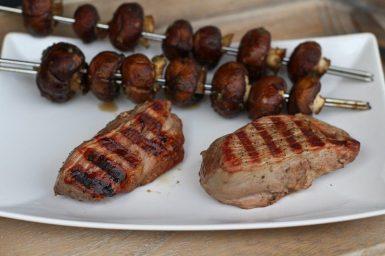Lamm Steak vom Grill von Silver Fern Farms
