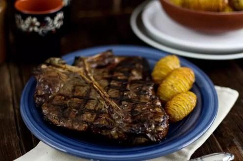 T-Bone Steak grillen - Temperatur / Würzen / Beilagen