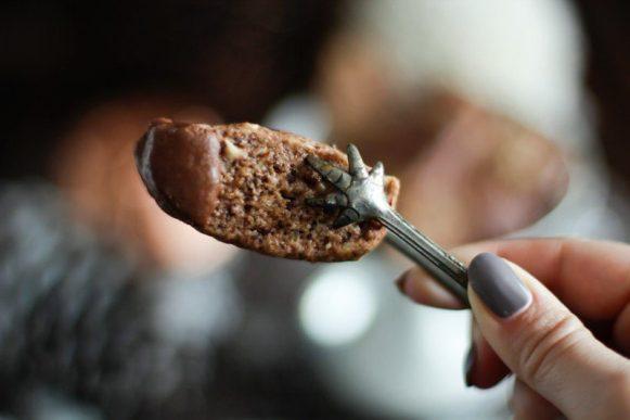 Schokoladen-Nuss Plätzchen / Stäbe