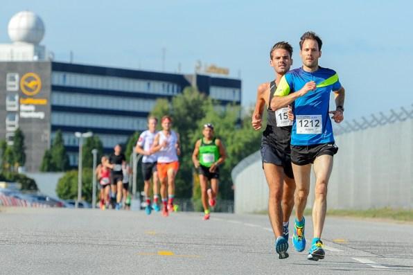 Teilnehmer beim Airport Race 2018; Hamburg, 16.09.18