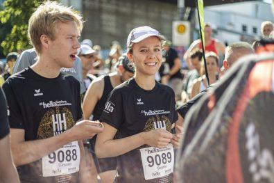 3. Platz Shirt: hella hamburg halbmarathon