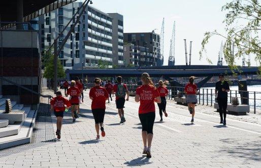 Feature Hamburg, 22.06.2019, HafenCity Run 2019 in der HafenCity
