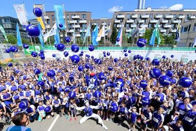 Team Beiersdorf Hamburg, 22.06.2019, HafenCity Run 2019 in der HafenCity