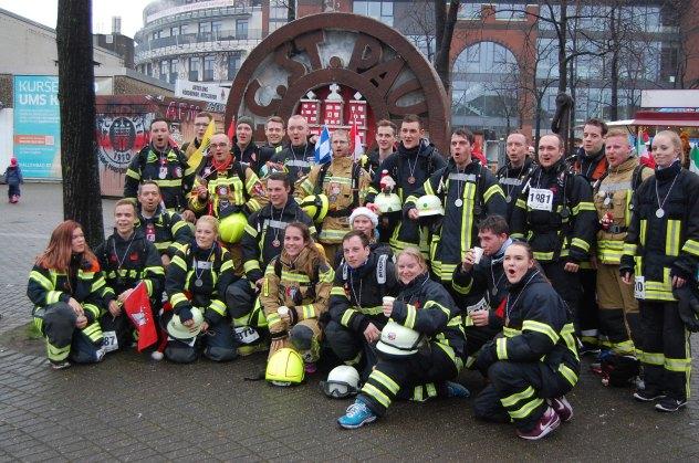 Gruppenfoto Feuerwehrteam 1