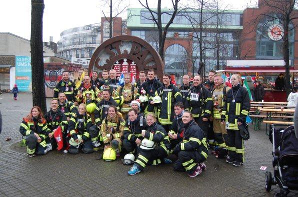 Gruppenfoto Feuerwehrteam 2