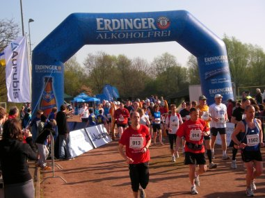Start 20 km Lauf