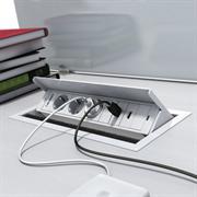 box bloc de prises encastre pour bureau
