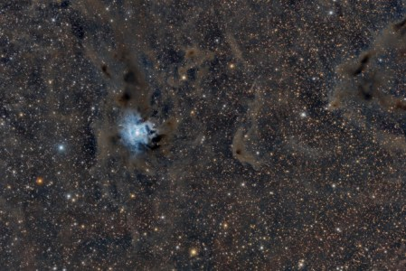 Ngc 7023, der Irisnebel