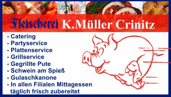 Fleischerei K.Müller Crinitz