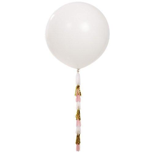 Riesen Luftballon weiß 100cm