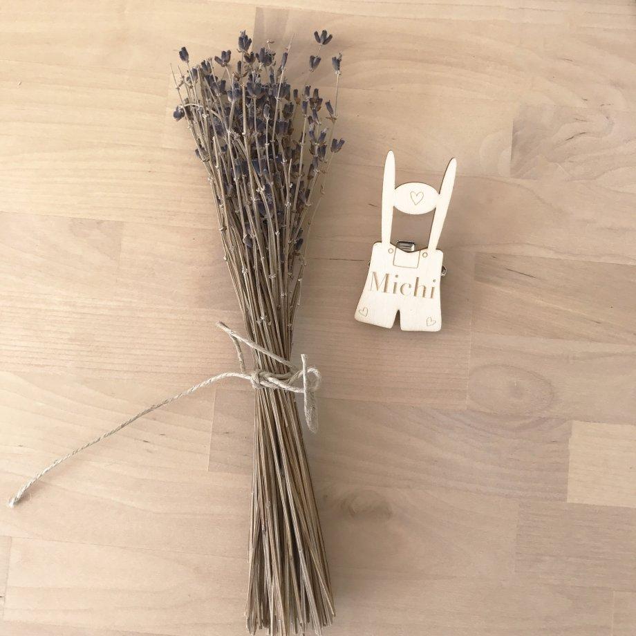 Holzanstecker Lederhose / Dirndl Die Macherei