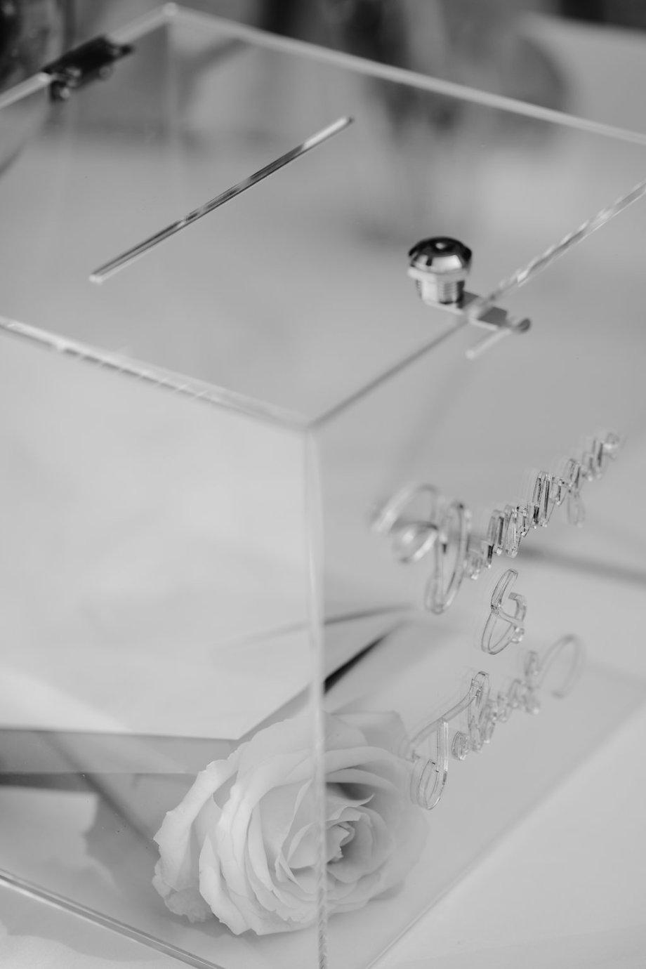 Keepsake Box durchsichtig Acryl . Die Macherei