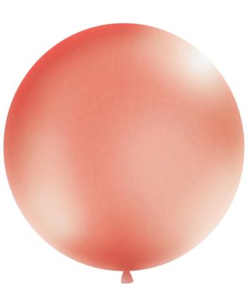 Riesen Luftballon Blush Metallic 100cm . DIe Macherei