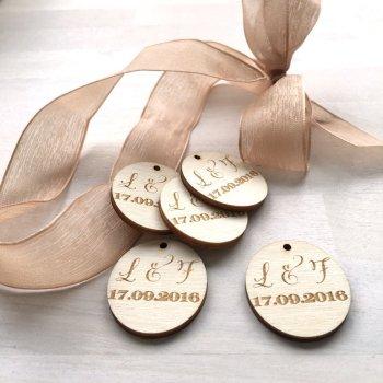 Holzanhaenger 3cm eigenes Design. Die Macherei