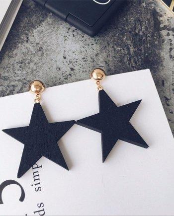 Ohrringe Black Star. Die Macherei