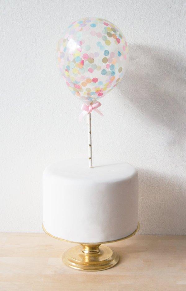 Luftballon Caketopper Die Macherei