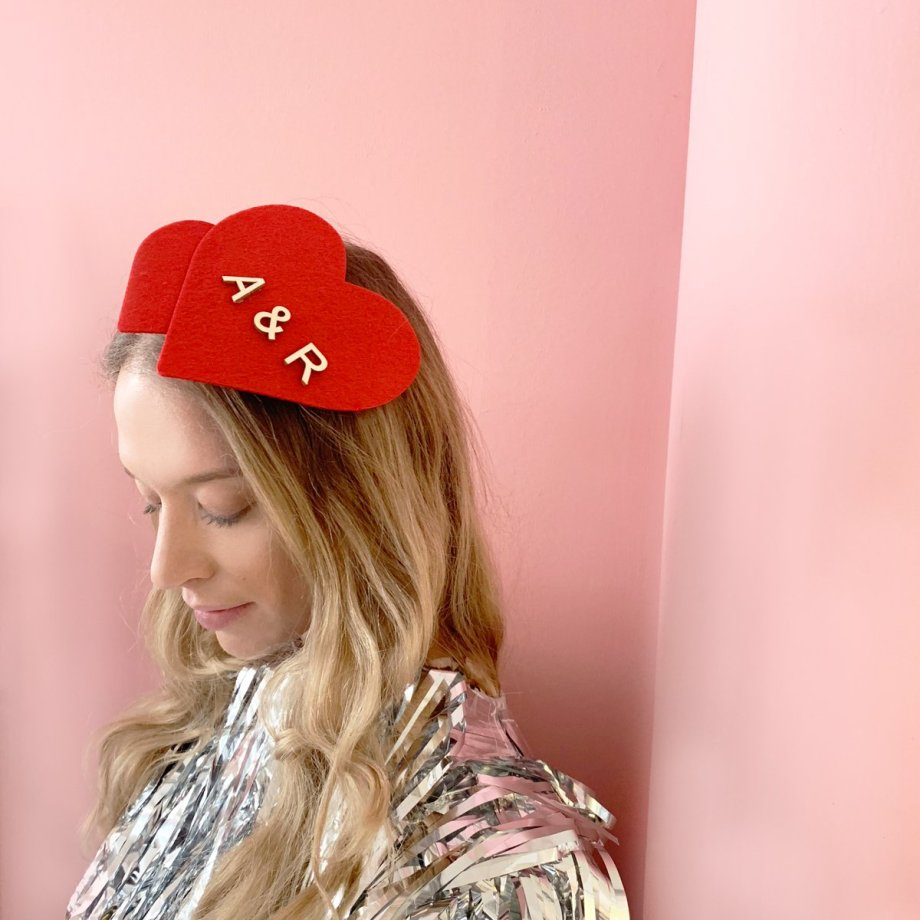 Headpiece The Heart Pfeil. Die Macherei