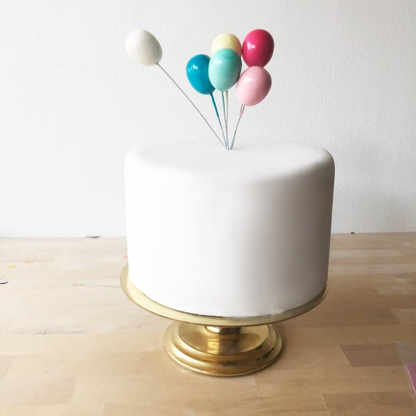 Mini Luftballon Caketopper Set