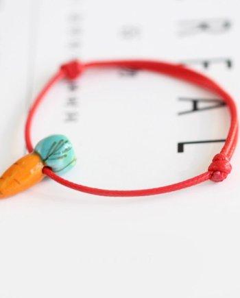 Armband Karotte. Die Macherei