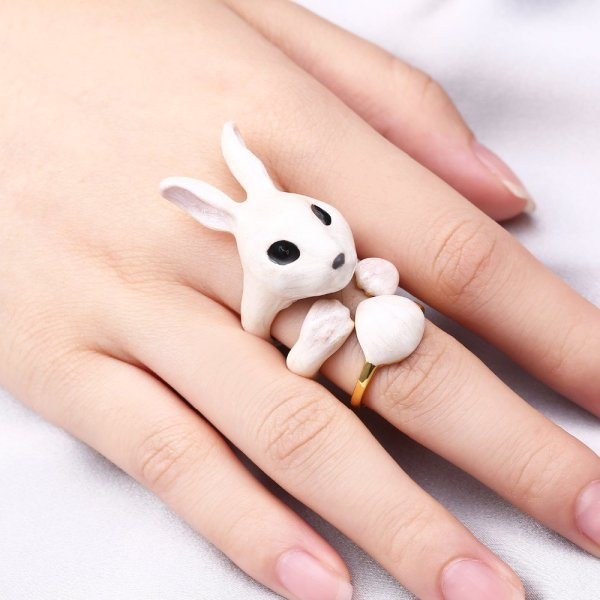 RIng Set Bunny 3 teilig. Die Macherei