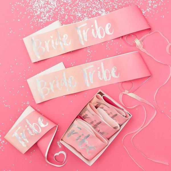 Bride Tribe Schaerpen Set 6 Stueck. Die Macherei