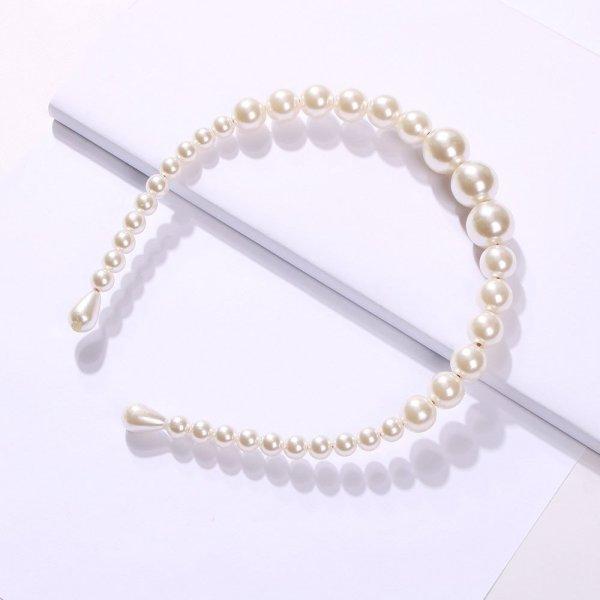 Perlen Haarreifen . Die Macherei