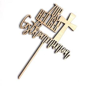 Caketopper Zur heiligen Erstkommunion