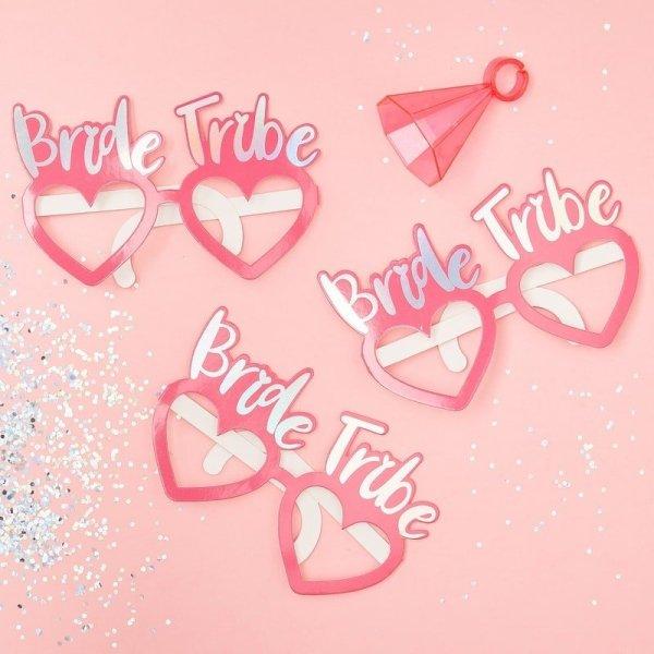 Bride Tribe Funglasses Set Pink