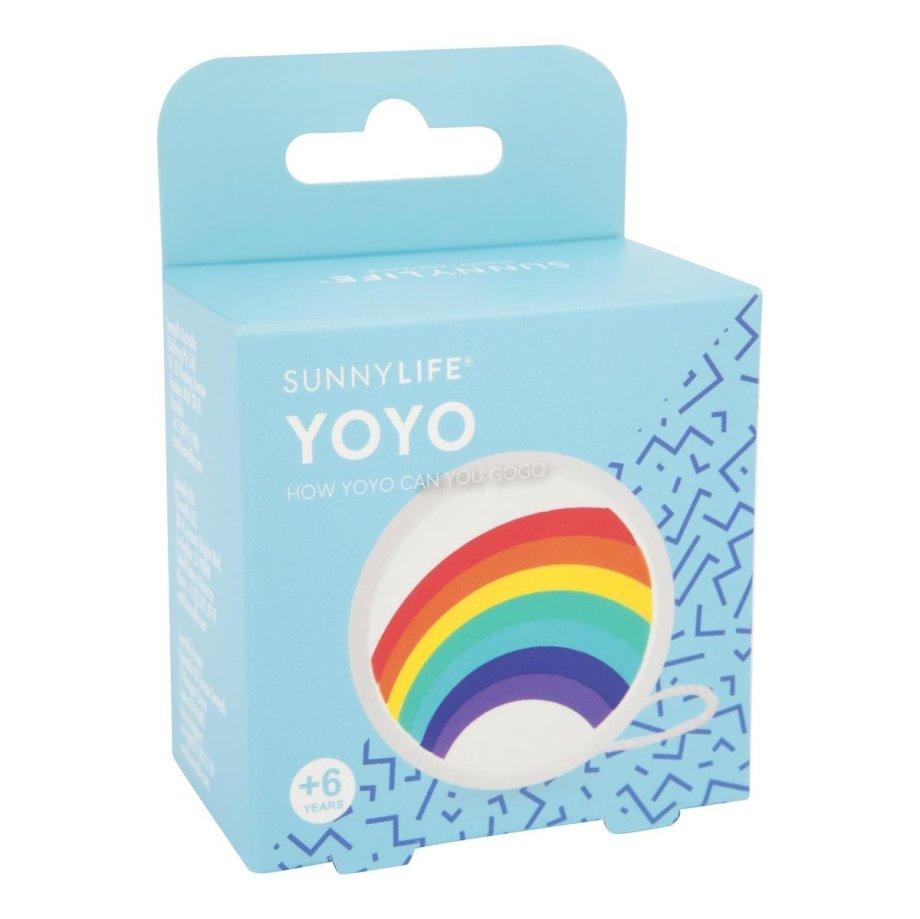 Regenbogen YOYO Holz