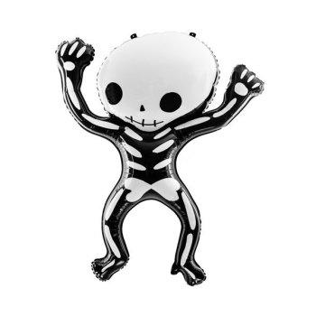 Skelett Folienballon Halloween