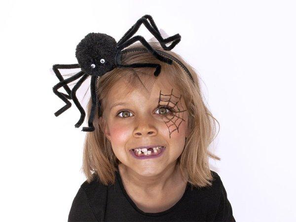 Haarreifen headpiece Spinne