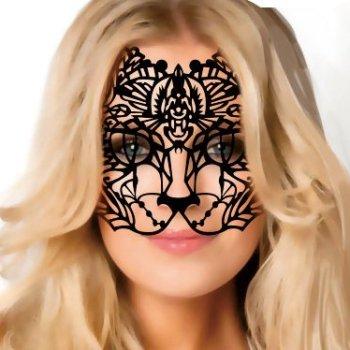 Gesicht Aufkleber Katze
