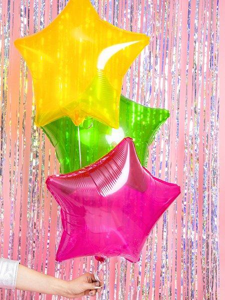 Stern Folienballon durchsichtig_mix_group