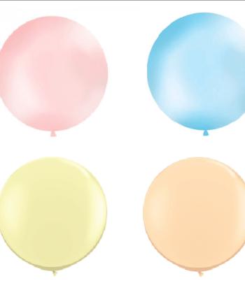 Riesen Luftballon Pastell 4 Farben Die Macherei