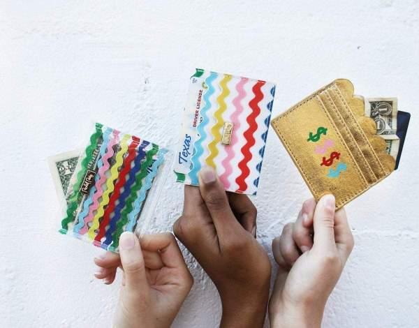 Card Holder Money Gold Die Macherei