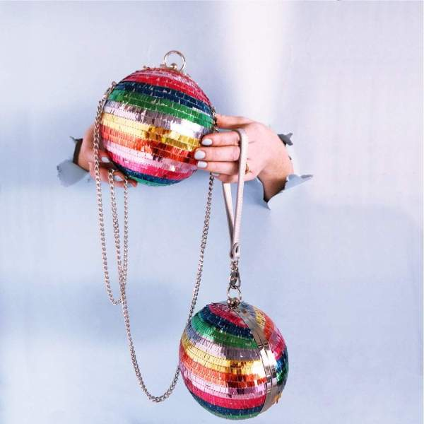 Disco Clutch Multicolor Die Macherei