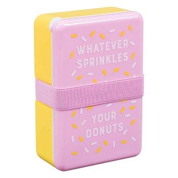 Jausenbox Streusel Donut. Die Macherei