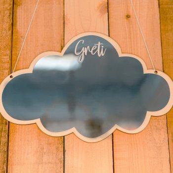 Spiegel Wolke personalisierbar