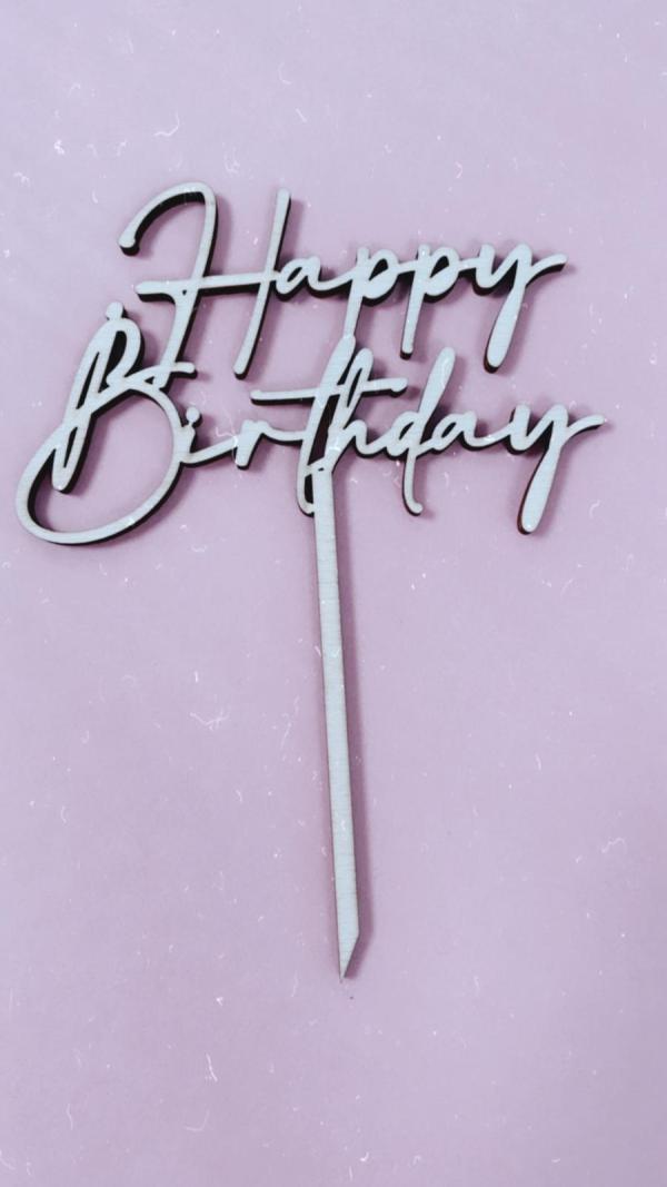 Happy Birthday verspielt