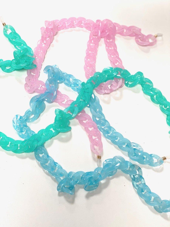 Brillenkette Maskenkette CHUNKY candycolor