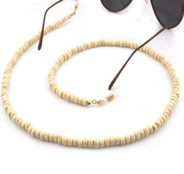 Brillenkette Maskenkette Wood Die Macherei