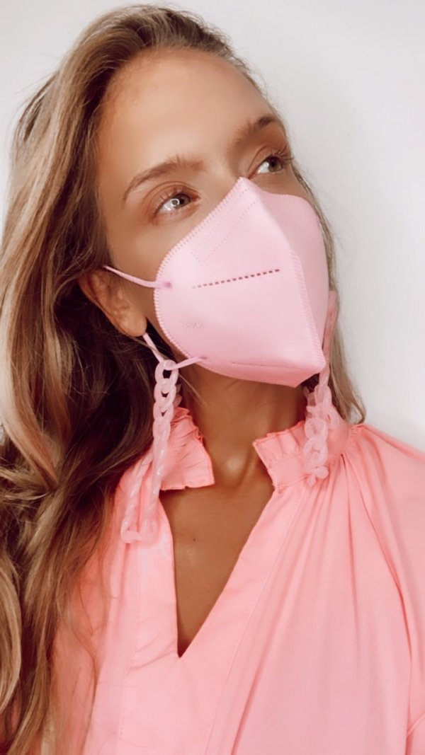 FFP2 Maske rosa