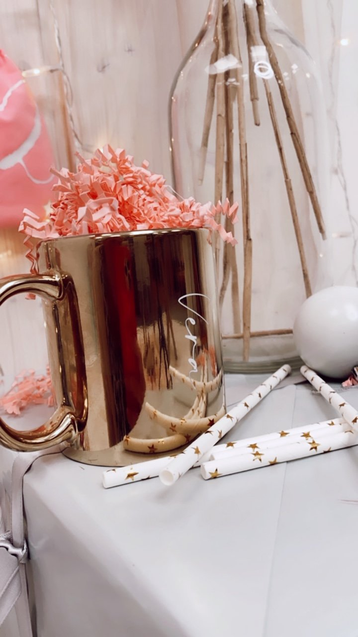 The Cup Tasse Gold