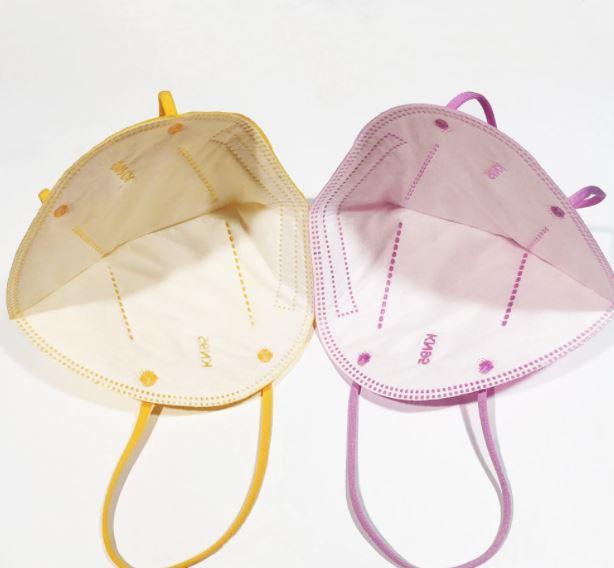Macherei Mask - FFP2 Maske gelb - Die Macherei