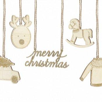 Holzanhänger Weihnachten