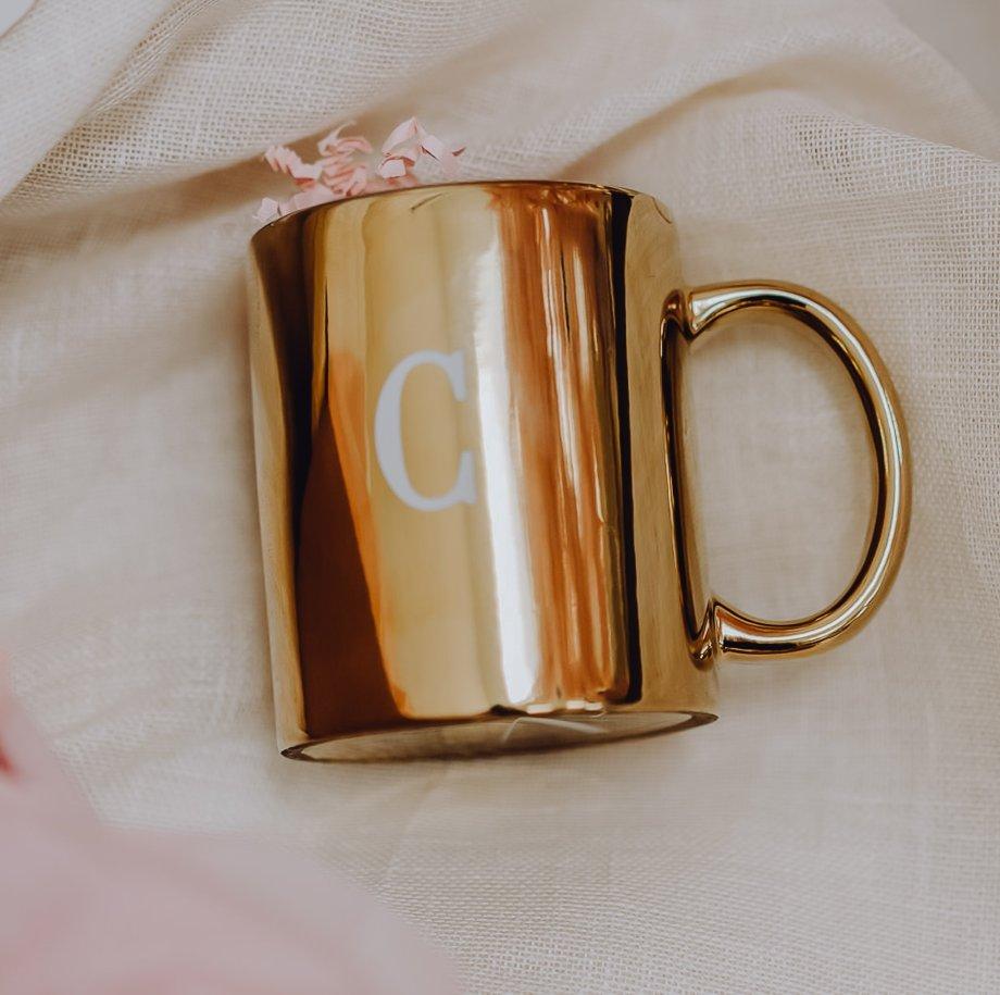 The golden Cup personalisierbar und befüllbar