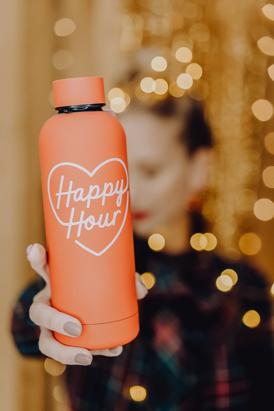 Trinkflasche Happy Hour