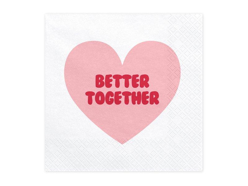 Papier Servietten Better Together