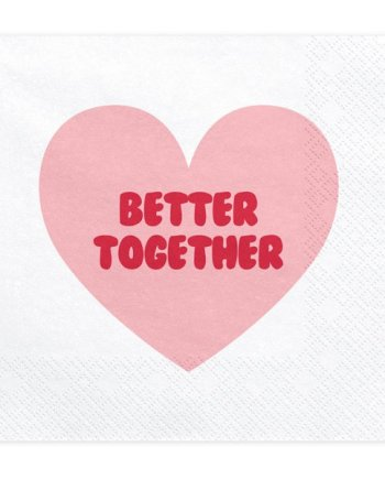 Papier Servietten Better Together
