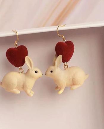Ohrringe Bunny Heart